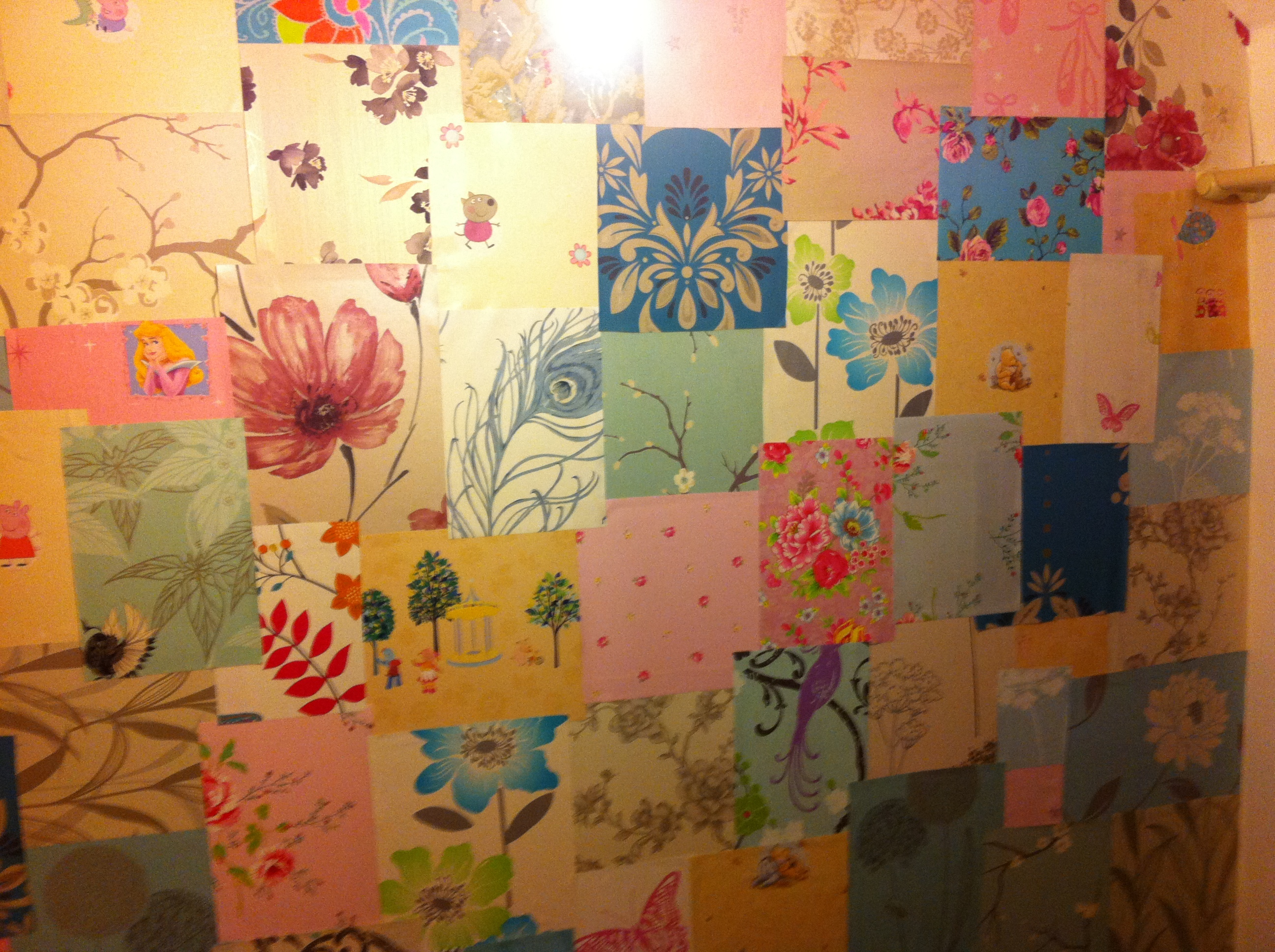 Patchwork Wall Hollys New Home