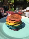 Unicorn Rainbow Pancakes