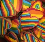Pride Rainbow Biscuits