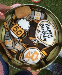 40th and 50th Birthday Biscuits
